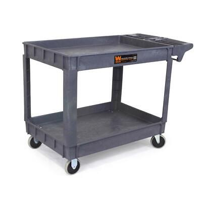 Wen Heavy Duty Service Utility Cart Mobile Tool Storage Station 46 X 33.5 In.