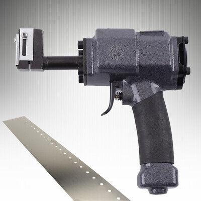 Metal Ad Words Pneumatic Punching Gun Air Hole Puncher Perforator Eyelet Machine