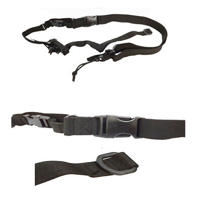 Gun Sling Universal Strap Hunting Paintball Tactical Black 3 Point Airsoft Rifle ()