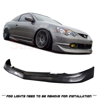 Fit for 02-04 ACURA RSX DC5 Mugen Style JDM Front PU Bumper Chin Lip Spoiler Acura Rsx Dc5 Types