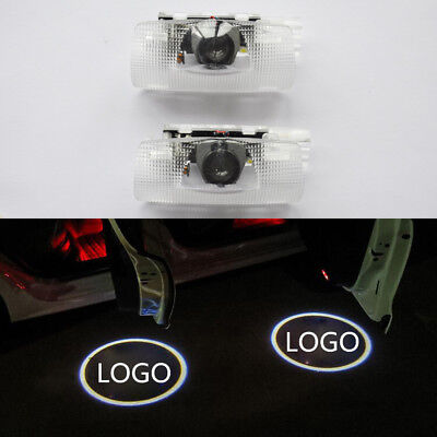 2x Ghost LED Door Step Welcome Projector Laser Courtesy Shadow Lights for Toyota