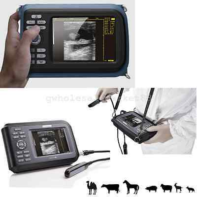 Veterinary Digital Palmtop Ultrasound Scanner 6.5mhz Rectal Probe Case Battery 1