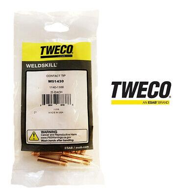 Genuine Tweco Weldskill Contact Tip Ws1430 .030 .8mm 1140-1166