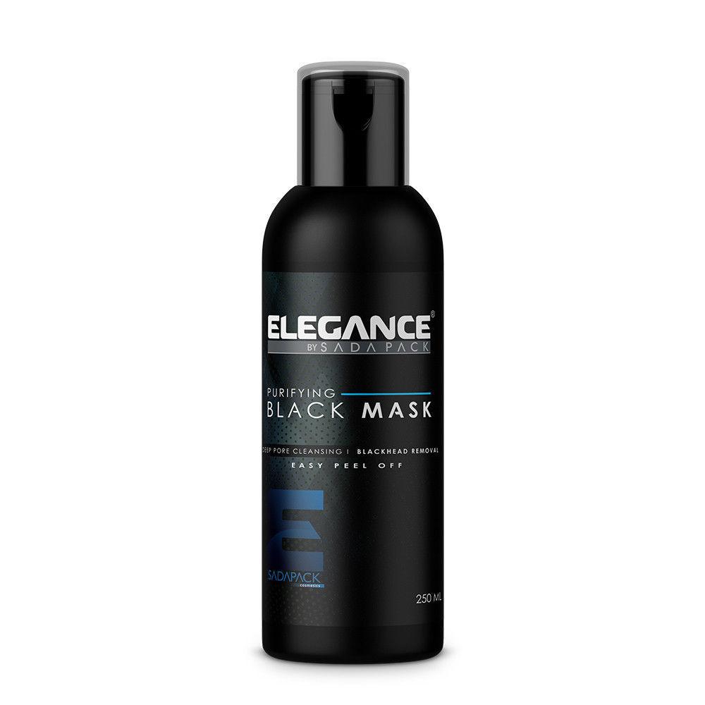 Elegance Purifying Deep Pore Black Head Cleansing Easy Peel Off Black Mask 8oz. Health & Beauty