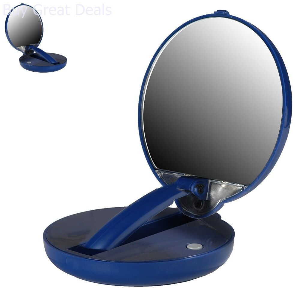 Lighted Travel Makeup Mirror 15x.Details About Makeup Mirror 15x Magnification Travel Mirror Adjustable Compact Cosmetic Mirror