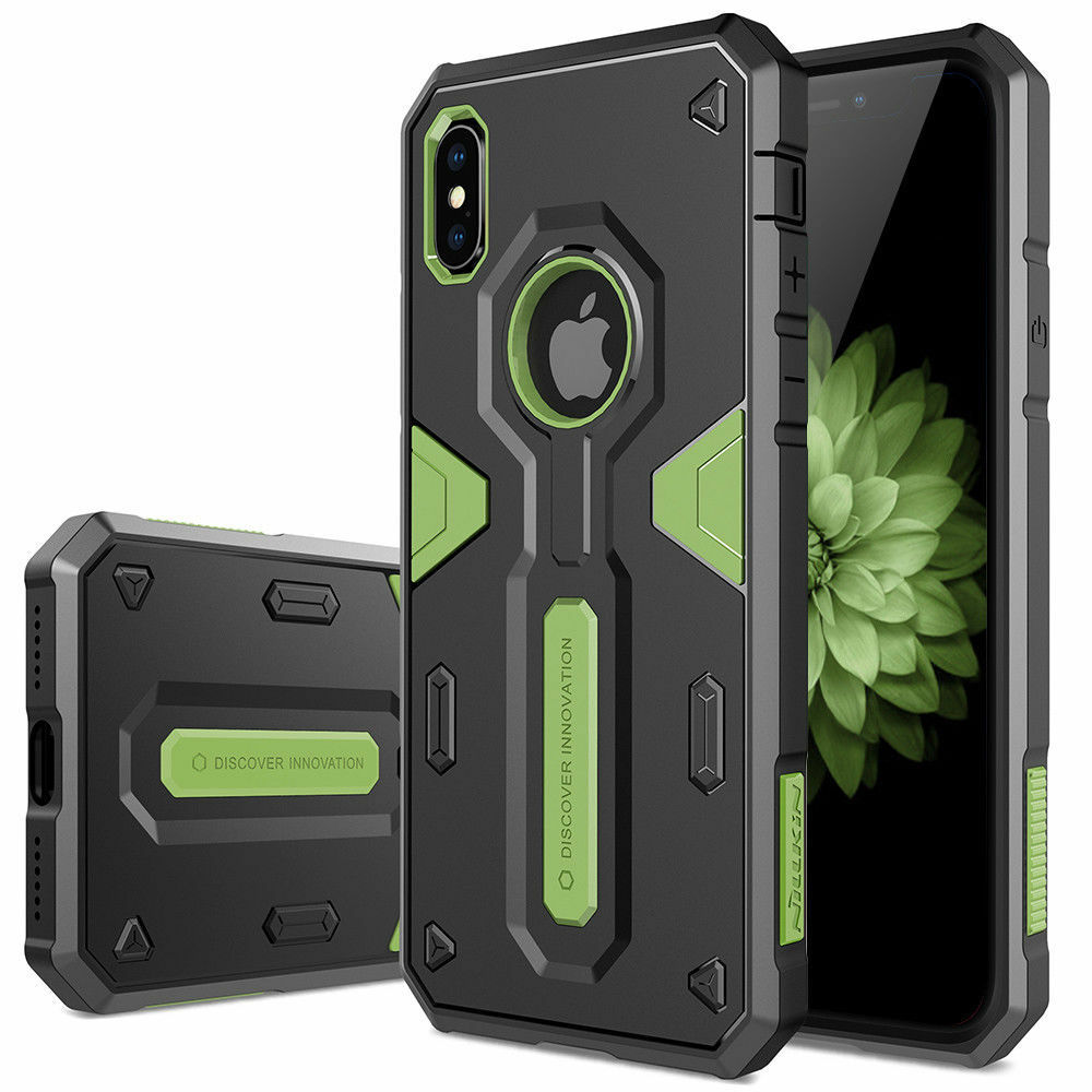 For Apple iPhone XS MaxXRXSX87 6s Plus Tough Shockproof Armor Hybrid Case