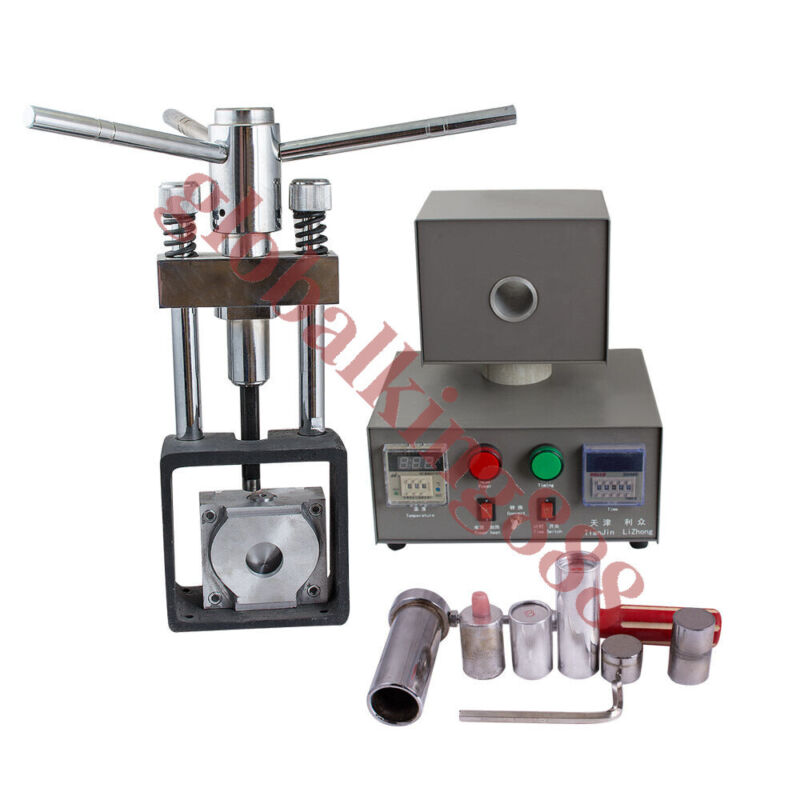 USA Dental Lab Manual Denture Injection Unit  heater & hot press System Machine