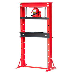 A+20 Ton Hydraulic Shop Press Floor Press H Frame Free Shipping