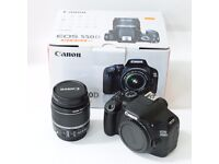 Canon 550D with 18-55mm lens, boxed with extras etc... Ideal xmas present