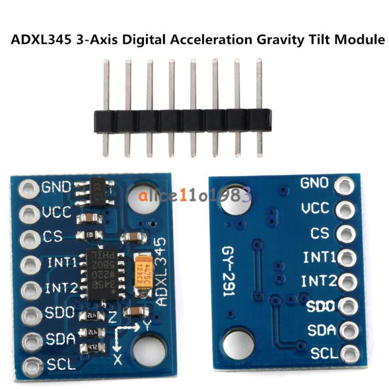 GY291 ADXL345 3-Axis Digital Acceleration of Gravity Tilt AVR ARM MCU Arduino