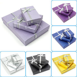 High Quality Jewellery Gift Boxes Bag Necklace Bracelet Ring Set Small Wholesale