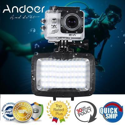 Foto Studio LED Videoleuchte Tauchen Camera Video Licht Wasserdicht 5500K 1800LM