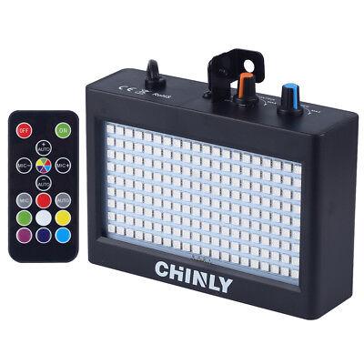 Licht Bar (Strobe Blitzlicht Bühnenlampe 35W RGB 180 LEDs Einstellbare Disco DJ Bar Lichter)