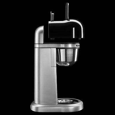 KitchenAid Personal Coffee Maker Machine Silver R-KCM0401CU One-Touch Brewing