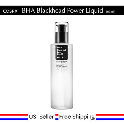 COSRX BHA Blackhead Power Liquid 100ml Korea Cosmetic + Free Sample [US Seller]