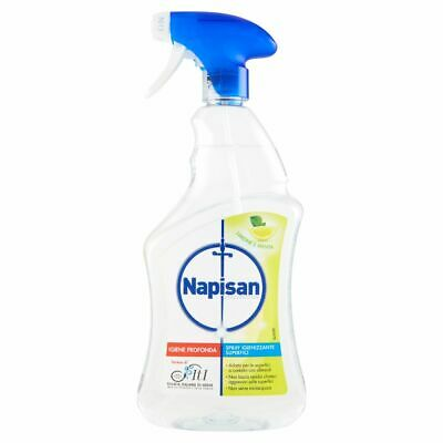 Napisan Spray Igienizzante Disinfettante Superfici 750ml limone&menta