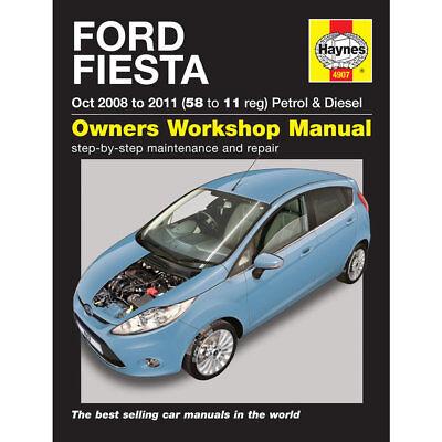 Ford Fiesta 1.25 1.4 1.6 Petrol 1.4 1.6 Diesel 08-11 (58-11 Reg) Haynes Manual