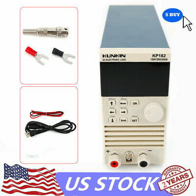 KP182 Single Channel Digital Electronic DC Load Tester Meter 200W//150V//20A USA