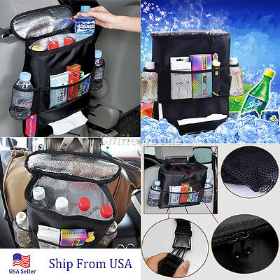 Travel Storage Bag Car Seat Back Organizer Vehicle Pocket Multi Auto Hanger Rear