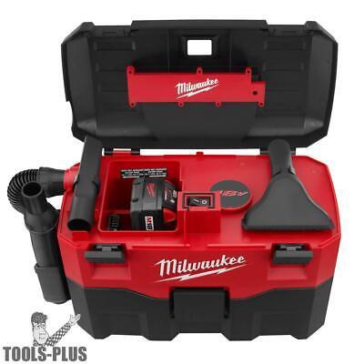 Cordless 18 Volt Wet/Dry Vacuum Milwaukee 0880-20 New