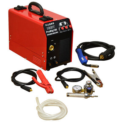 Wire-feed Welder 30-180 Amp Welding Arc Mma Mig Welder 120 V Tool Gbt Inverter