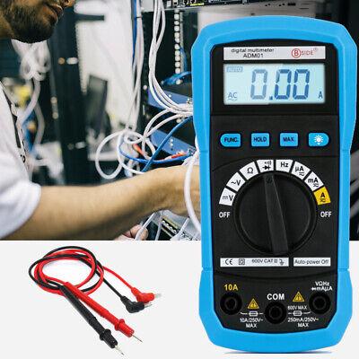 Newest Adm01 Digital Auto Range Multimeter Volt Ac Dc Tester Meter Voltmeter Wf