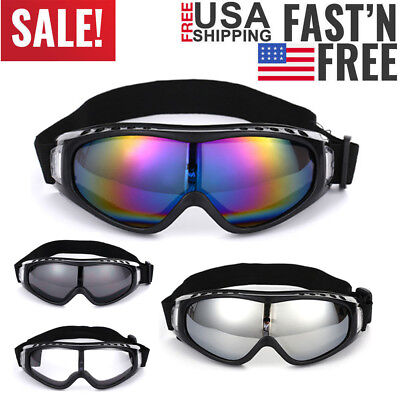 Snow Ski Goggles Men Anti-fog Lens Snowboard Snowmobile Motorcycle Sunglasses (Ski Goggles Sunglasses For Men)