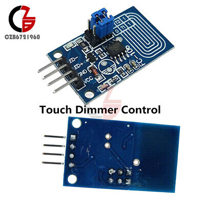 5pcs Cv Capacitive Touch Dimmer Pwm Control Led Panel Switch Module 2.4-5v 500ma