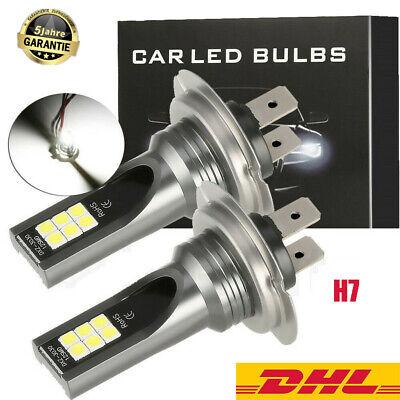 2x H7 200W Auto LED Scheinwerfer Nebelscheinwerfer 6000K 20000LM HID Canbus IP68