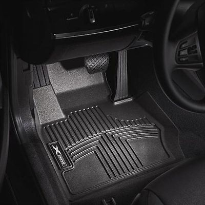 BMW thermoplastic all weather floor liners   FRONT 5 Series F10  82112210406