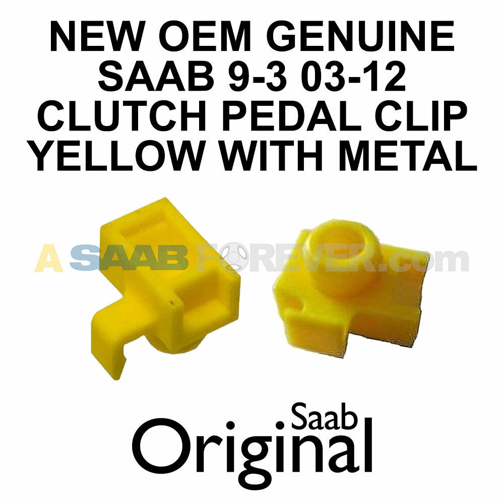 One New Genuine Clutch Pedal Spring Locking Pin 12800290 for Saab