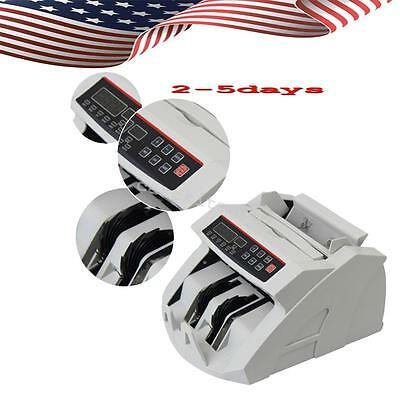 Money Bill Currency Counter Counting Machine Counterfeit Detector Mg Cash Best