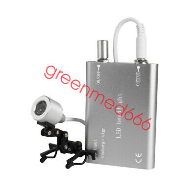 Us Medical Dental Surgical 5w Led Headlight With Clip Type For Dentist Safty Use