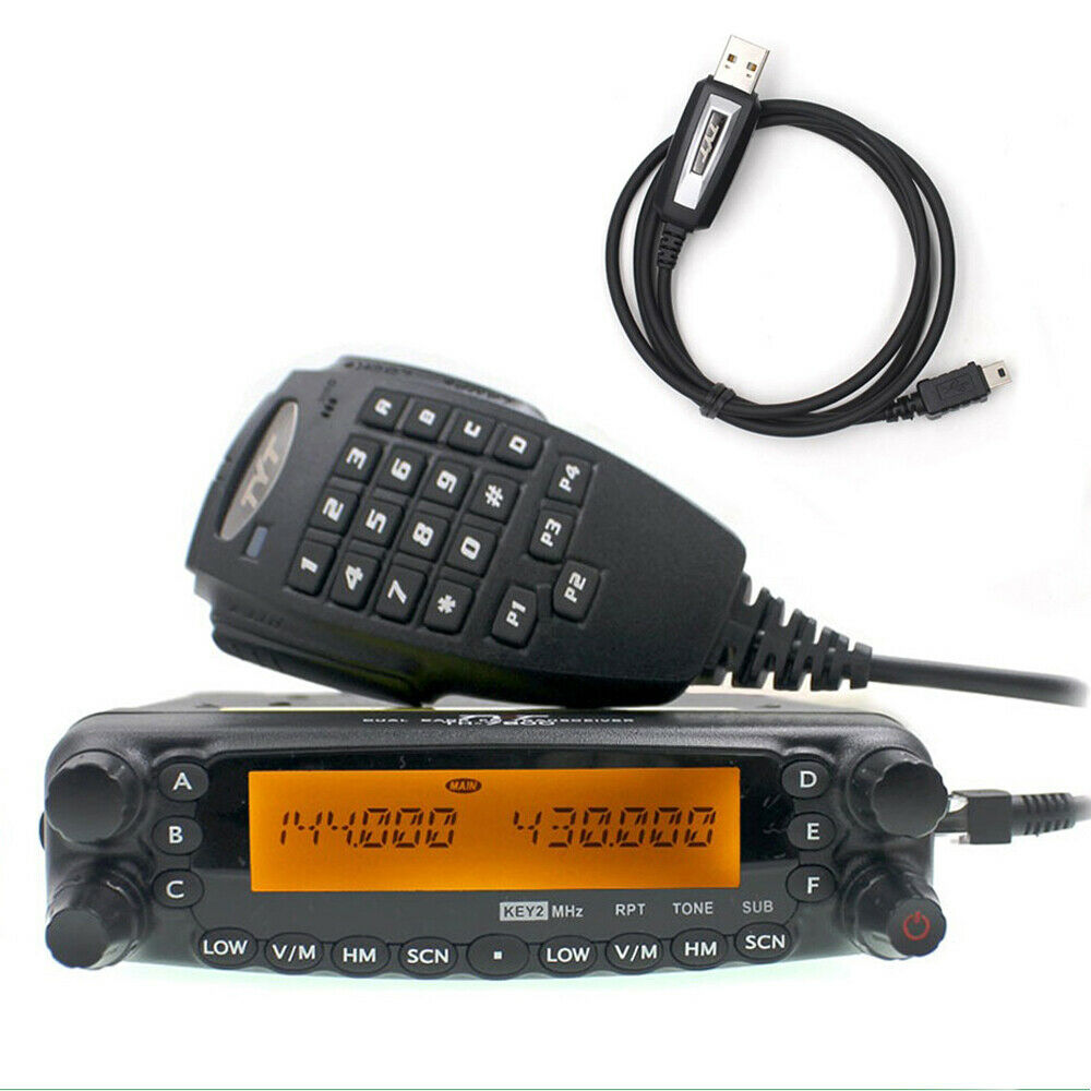 TYT TH-7800 Dual Band Car Radio 136-174/400-480MHz 50W CTCSS/PL&DCS TH7800 + USB. Buy it now for 187.12