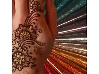 Mehndi Henna Artist Quick and Affordable With Design Book and Candle Art or Chocolate Mehndi
