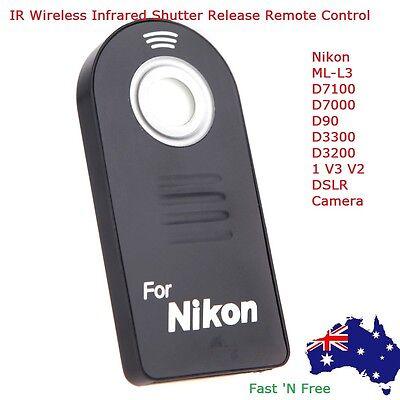 IR Wireless Infrared Shutter Release Remote Control for Nikon DSLR Camera ML-L3