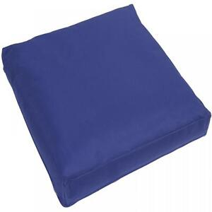 large navy blue waterproof outdoor cushion chair seat cover pads pillow 60x60cm ebay. Black Bedroom Furniture Sets. Home Design Ideas
