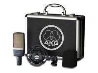 AKG C214 Large Diaphragm Microphone NEW SEALED BOX