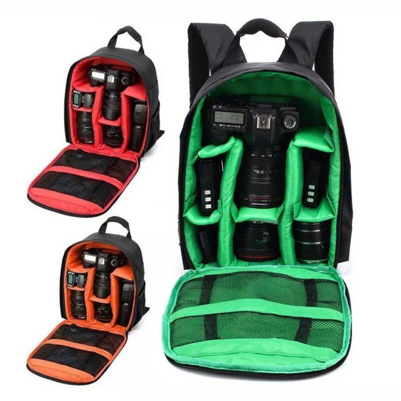 Waterproof Digital DSLR Camera Video Backpack Shoulder Bag Case For Canon Nikon