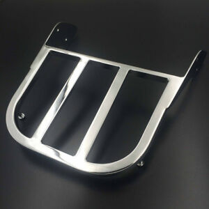 Silver Chrome Sissy Bar Luggage Rack For Honda Shadow ACE/Spirit750 ACE/Aero1100