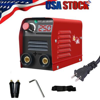 Zx7-250 250a Mini Electric Welding Machine Dc Igbt Inverter Arc Mma Stick E8m1