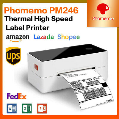 46 Shipping Label Printer Commercial Grade Direct Thermal High-speed With Usb