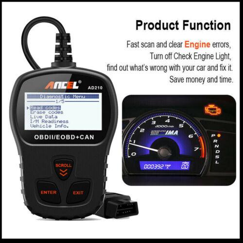Automotive OBD Code Reader OBD2 Scanner Car Check Engine Fau