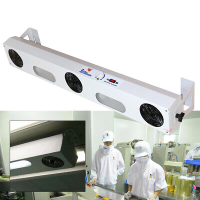 Suspended 3-head Ion Fan Overhead Ionizer Air Blower Anti Static Cleanroom Sale