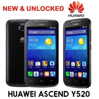 NEW HUAWEI Y520 4.5 Inch UNLOCKED 5MPX CAMERA BLACK $110 Castle Hill The Hills District Preview