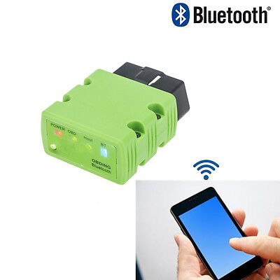 Universal Mini ELM327 OBD2 OBDII  Bluetooth Diagnostic Interface Scanner Green