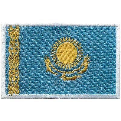 Aufnäher Applikation nähen Stick-Emblem Flaggen der Welt: KASACHSTAN ☆20422☆ ()