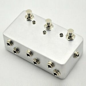 Handmade Looper-Guitar 3Loop Pedal switch Board-True Bypass Channel Selection!