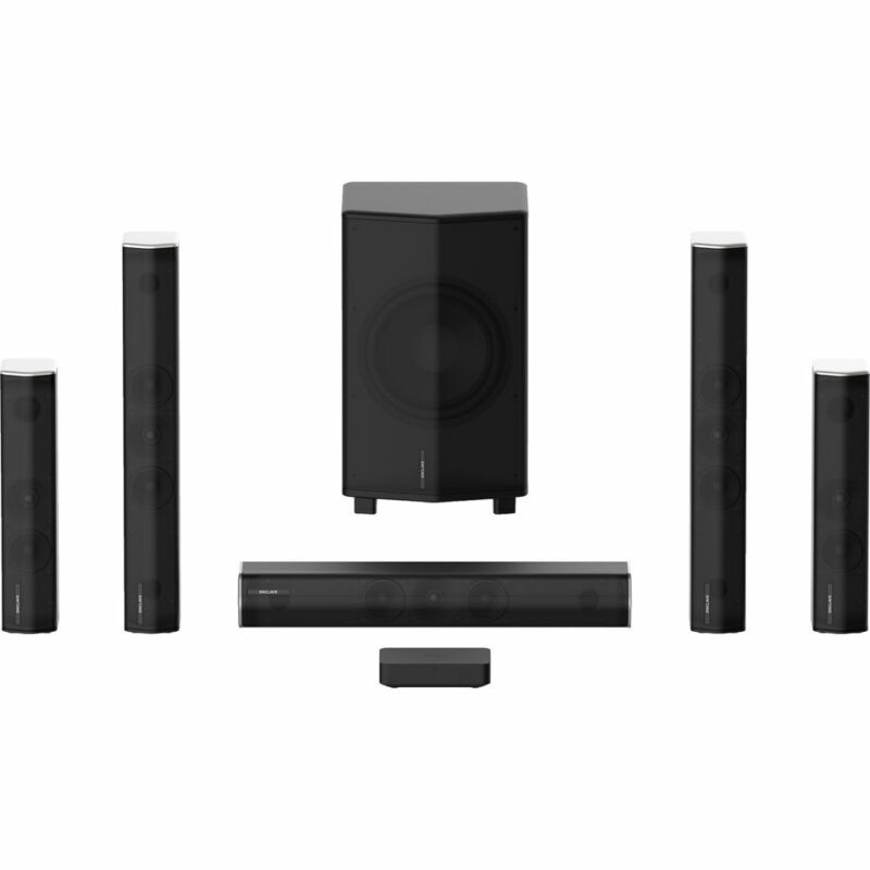 Enclave CineHome Pro 5.1 Wireless Home Theater Surround Sound CineHub Edition(Op