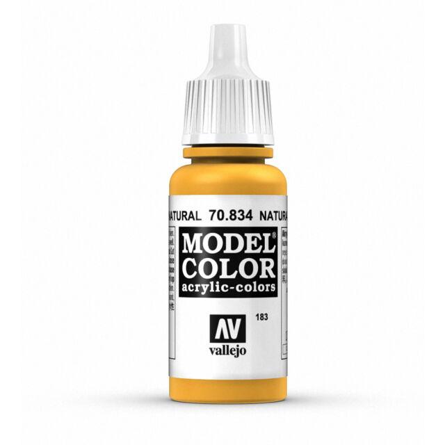 Vallejo Model Color: Natural Woodgrain - VAL70834 Acrylic Paint Bottle 17ml 183